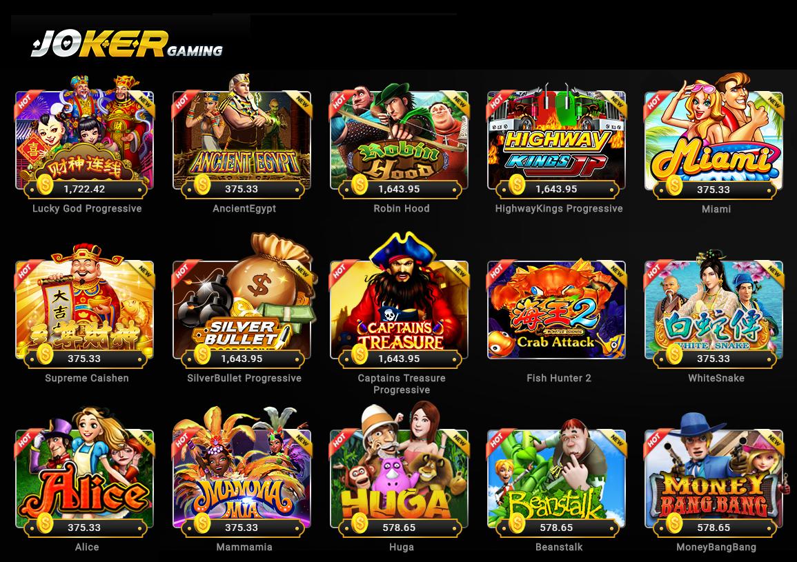 Bandar Judi Slot Joker123 Online yang Bonafid Terpercaya